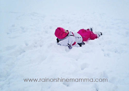 5 Olympics-Inspired Backyard Games for Winter - Rain or Shine Mamma