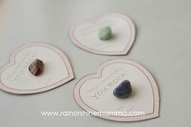 Make a Rockin' Valentine - Rain or Shine Mamma