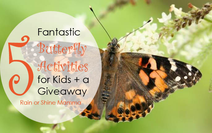 5 Fantastic Butterfly Activities for Kids + a Giveaway. Rain or Shine Mamma