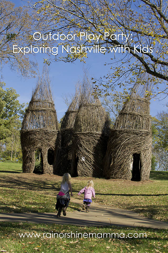 Outdoor Play Party: Exploring Nashville with Kids. Rain or Shine Mamma