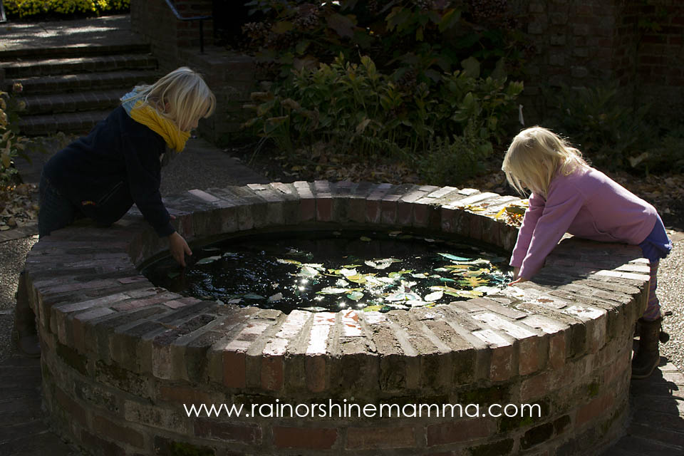 Outdoor Play Party: Playing with Water at Cheekwood Botanical Garden in Nashville