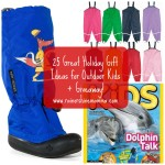 Holiday Gift Guide for Outdoor Kids. Rain or Shine Mamma