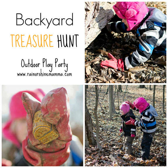 Backyard Treasure Hunt