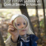 DIY Forest School V: Does It Belong In Nature? Rain or Shine Mamma