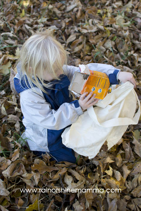 Fun Forest School Activity: Does It Belong In Nature? Rain or Shine Mamma