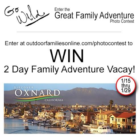 Outdoor Families Magazine Contest. Rain or Shine Mamma