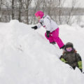 5 Reasons to Let Your Kids Play Outside In (Almost) Any Weather. Outdoor play in rain, wind and snow can be a lot of fun for kids, so why stay inside because of some inclement weather? Don't hibernate in the fall and winter - find some fun outdoor activities to do with your kids instead!