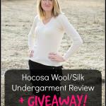 Hocosa wool/silk underwear review. Rain or Shine Mamma
