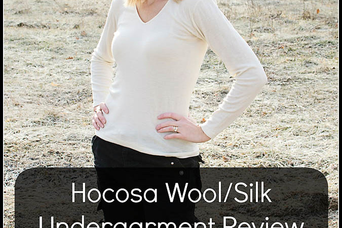 Hocosa Wool/Silk Undergarment Review + Giveaway!