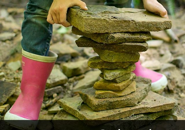 DIY Forest School VI: Rock Stacking