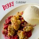 Gluten-Free Scandinavian Berry Cobbler. Rain or Shine Mamma.