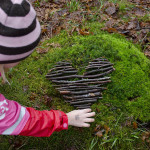 Create Your Own Valentine's Day Nature Art