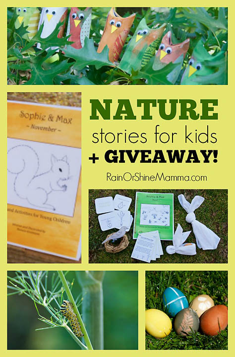 Nature Stories for Kids. Rain or Shine Mamma