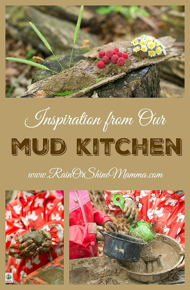 Inspiration from Our Mud Kitchen. A mud kitchen is a fun and simple way to encourage children to connect with nature. Plus, playing with mud is on e of the best sensory activities for children there is! Check out our simple ideas for mud play and be inspired! Rain or Shine Mamma.