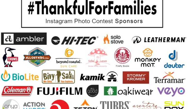 Annual #ThankfulForFamilies Instagram Contest