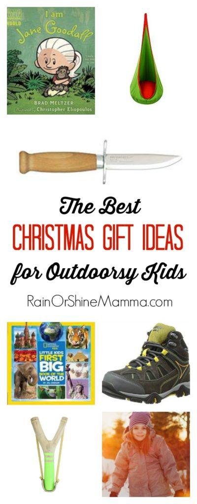 The BEST Christmas Gift Ideas for Outdoorsy Kids. The complete Christmas gift guide for the nature-loving child in your life. These fun and useful gifts will encourage your kids to get outside and stay active all year!