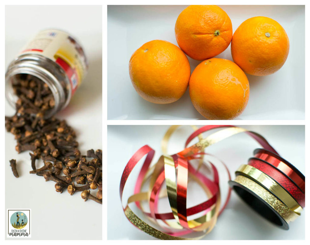 how to make pomander christmas oranges - Christmas Oranges