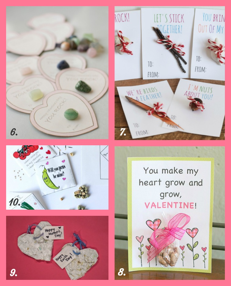 15 Nature-Inspired Valentine Crafts, Activities and Cards for Kids. Celebrate Valentine's Day with these fun and kid-friendly DIY projects. Seed paper hearts, valentine cards made from natural materials and more! Rain or Shine Mamma.