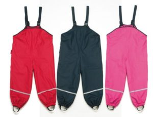 Mud Pants from Sofee and Lenee. 2017 Holiday Gift Guide for Outdoorsy Kids. Rain or Shine Mamma