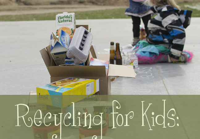 Recycling for Kids – A Fun and Simple Earth Day Activity