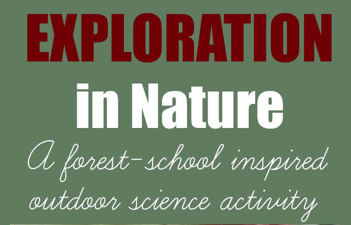 Outdoor Science Activity: Small World Exploration