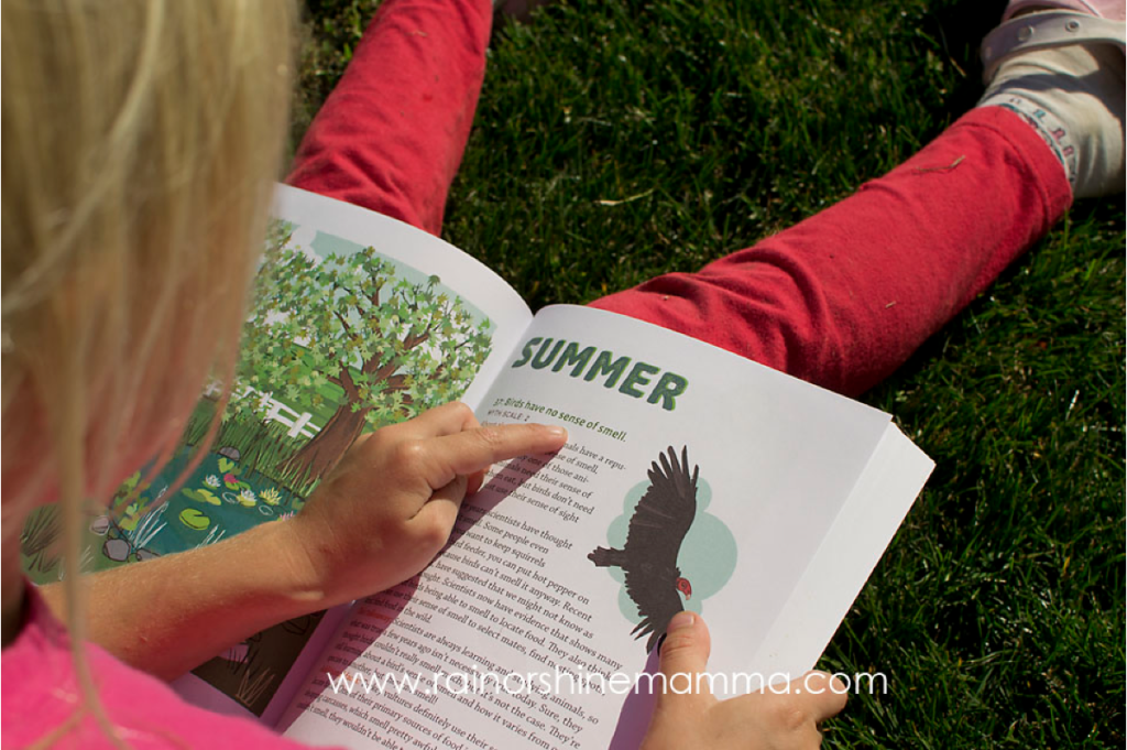 Book Review: The Truth About Nature. Rain or Shine Mamma