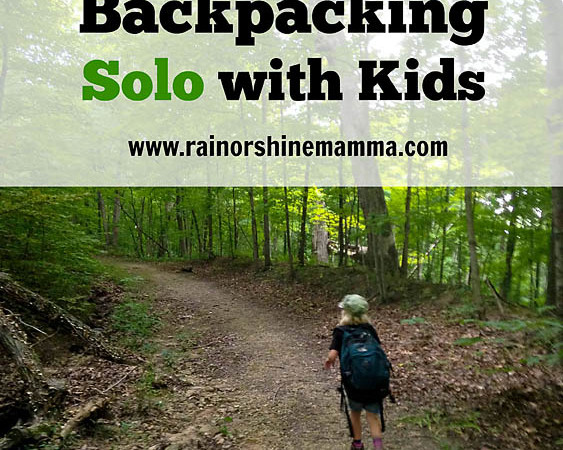 The Truth About Backpacking Solo with Kids