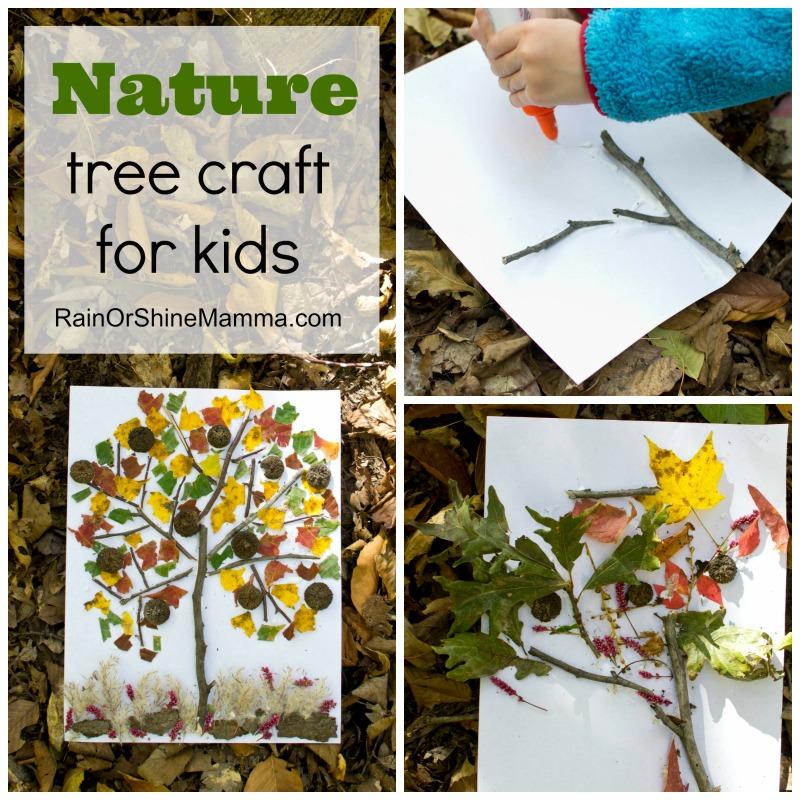 Fun Nature Tree Craft for Kids. Rain or Shine Mamma
