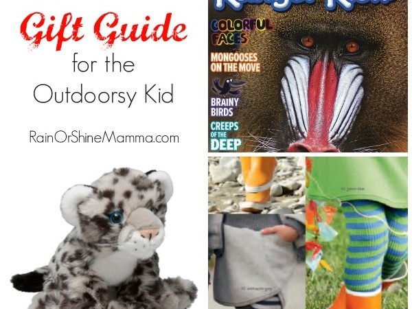 Holiday Gift Ideas for the Outdoorsy Kid + Giveaways!
