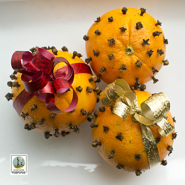 How to Make Pomander Oranges. Put it on display in a window or as a centerpiece on a table. Rain or Shine Mamma.