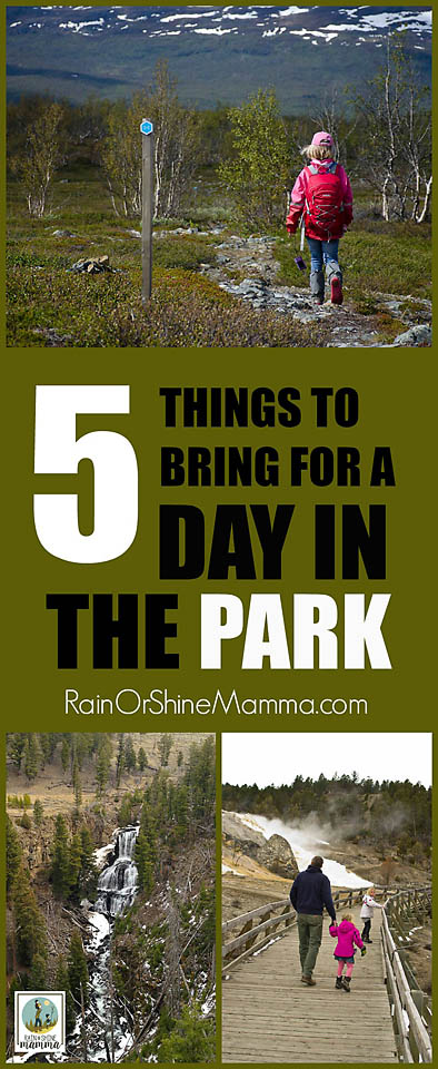 5 Things to Bring for a Day at the Park + GIVEAWAY! From Rain or Shine Mamma.