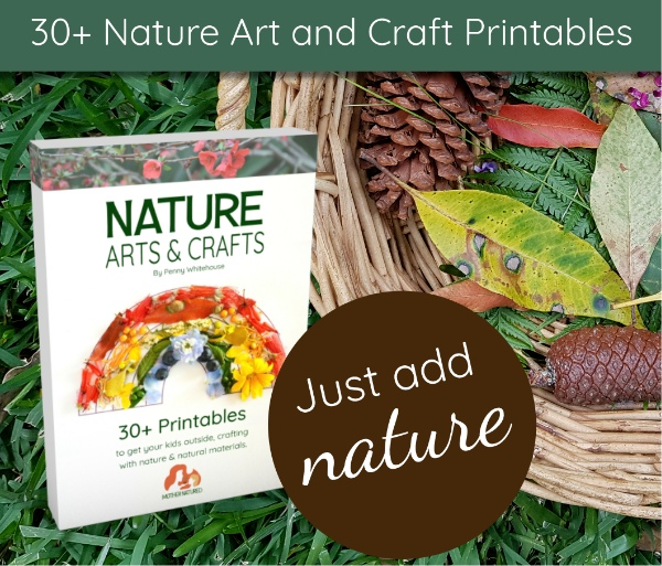 Nature Craft Printable by Mother Natured.