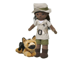 Wildlife Ranger Doll from WWF. 2017 Holiday Gift Guide for Outdoorsy Kids. Rain or Shine Mamma